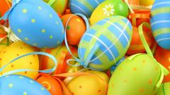 Colorful Easter Eggs 28243