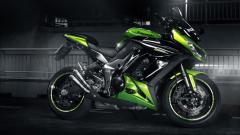 Cool Green Bike Wallpaper 33082