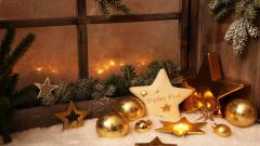 Cute Holiday Candles Wallpaper 41084