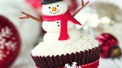 Fantastic Holiday Cupcake Wallpaper 41100