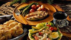 Fantastic Seafood Dinner Wallpaper 42717