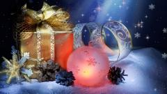 Free Christmas Wallpaper 16194