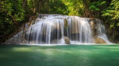 Free Forest Waterfall Wallpaper 34064