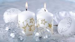 Free Holiday Candles Wallpaper 41090