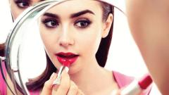 Free Lily Collins Wallpaper 34356