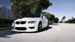 Free White BMW Wallpaper 32595