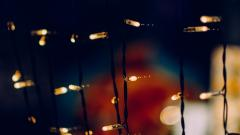 Garland Lights Wallpaper 41110