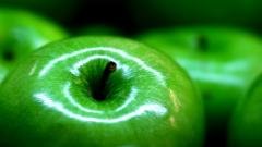 Green Apple Background 34622