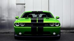 Green Dodge Challenger Wallpaper 23678
