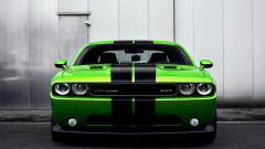 Green Dodge Challenger Wallpaper 23678