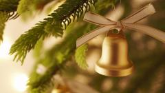 Lovely Christmas Bell Wallpaper 39634