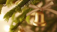 Lovely Christmas Bell Wallpaper 39634