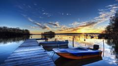Lovely Dock Wallpaper 41857