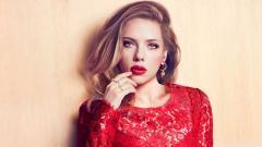 Lovely Red Dress Wallpaper 34997