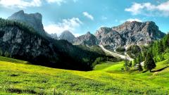Mountain Valley Backgrounds 29913