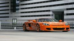 Orange Porsche Wallpaper 21724