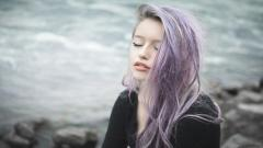 Purple Hair 35233