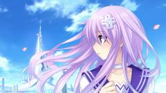 Purple Hair Wallpaper 35230