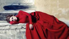 Red Dress Background 34992