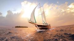 Sailboat Wallpaper 7778