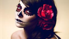 Scary Makeup Wallpaper 23236