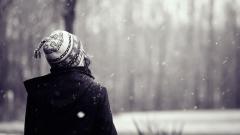 Snowflakes Falling Wallpaper 37168