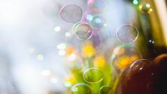 Soap Bubbles Wallpaper 35008