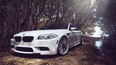 White BMW 32604