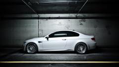 White BMW 32605
