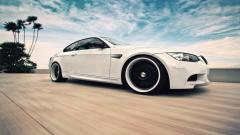 White BMW Background 32594