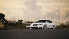 White BMW Background 32600