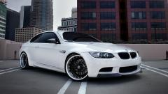 White BMW Wallpaper 32588