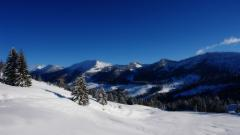 Winter Mountain Background 29620