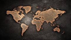 World Map Wallpaper 6238