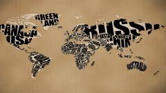 World Map Wallpaper 6242