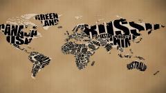 World Map Wallpaper 6242