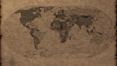 World Map Wallpaper 6244