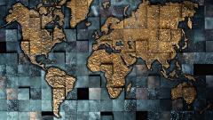 World Map Wallpaper 6250