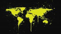 World Map Wallpaper 6252