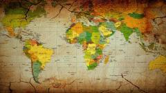 World Map Wallpaper 6254