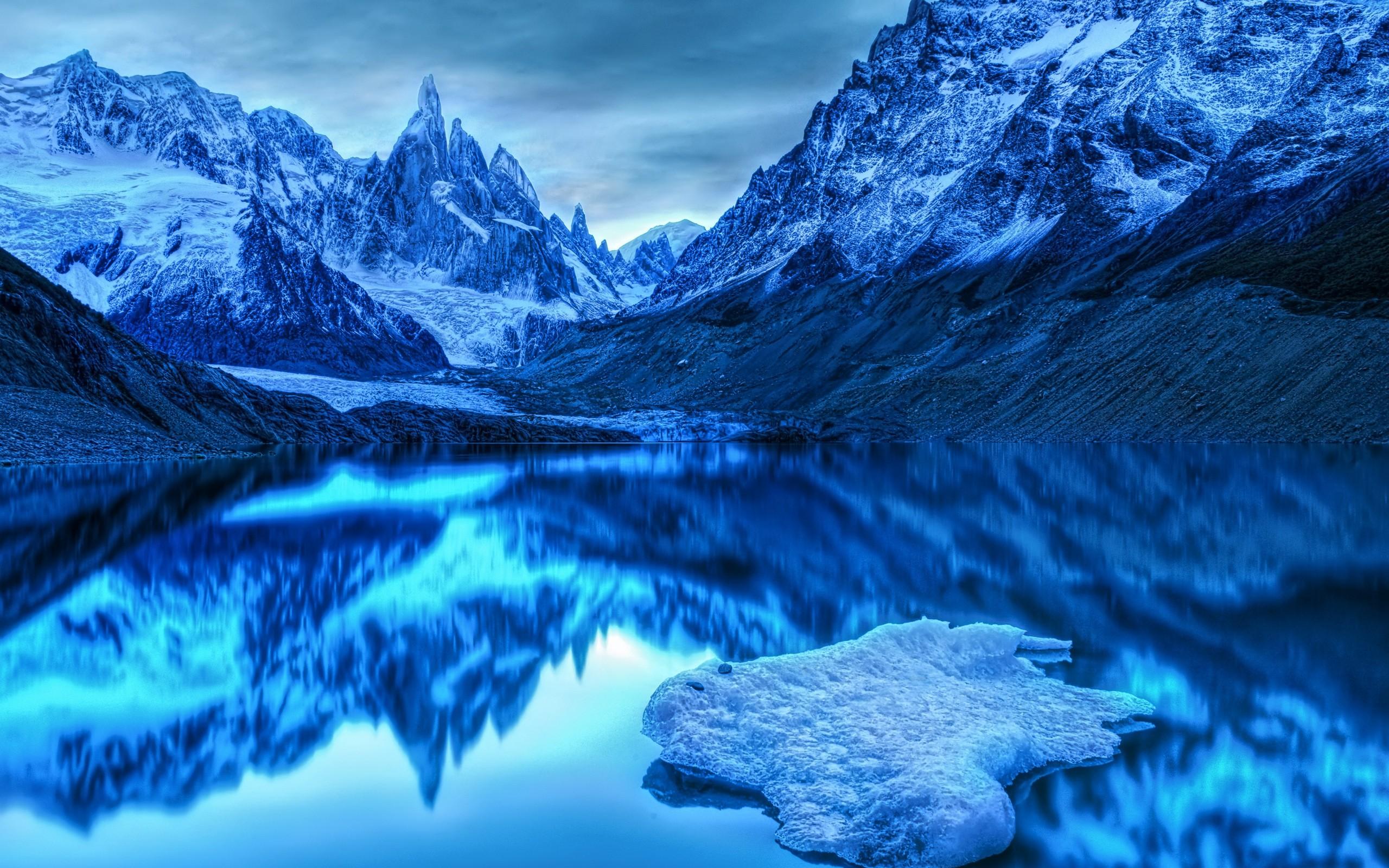 Winter Mountain Wallpaper Hd