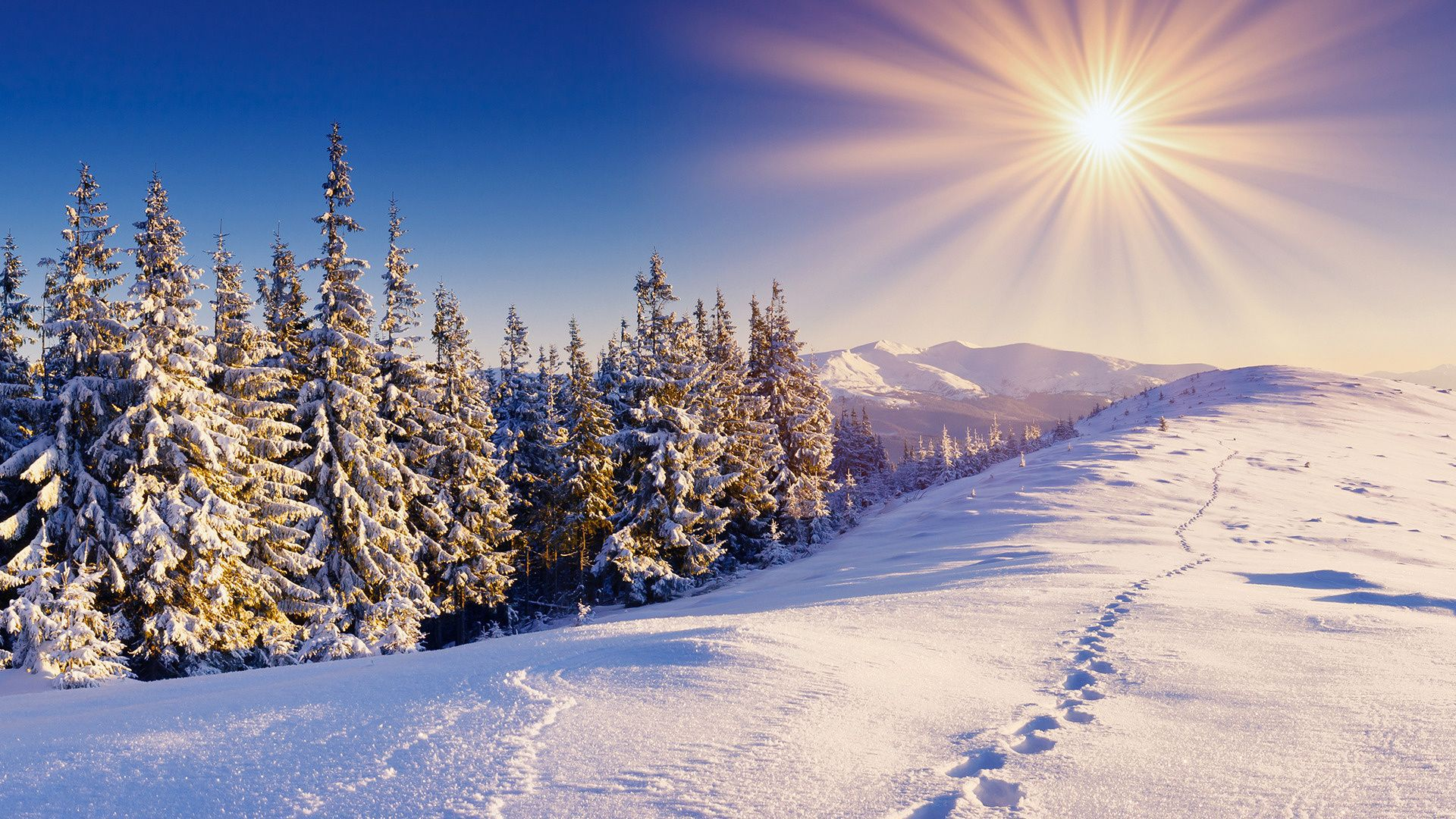 Winter Mountains 29618 1920x1080 px ~ HDWallSource.com