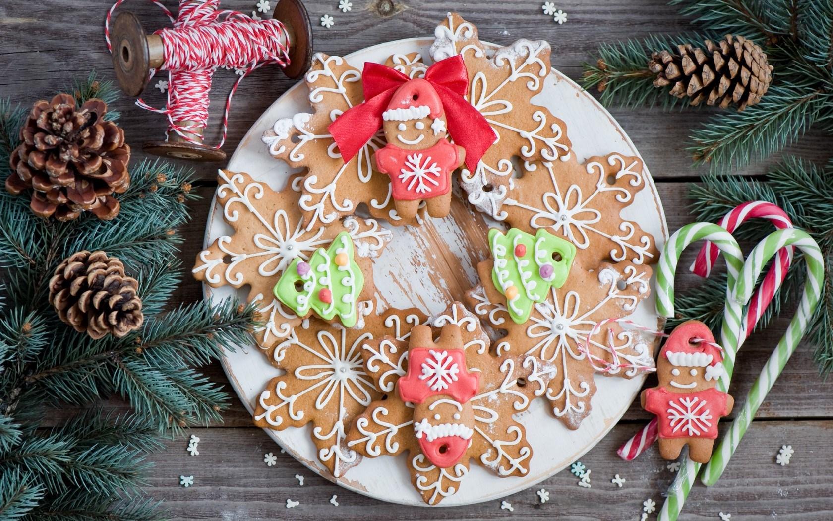 wonderful holiday cookies wallpaper 41098
