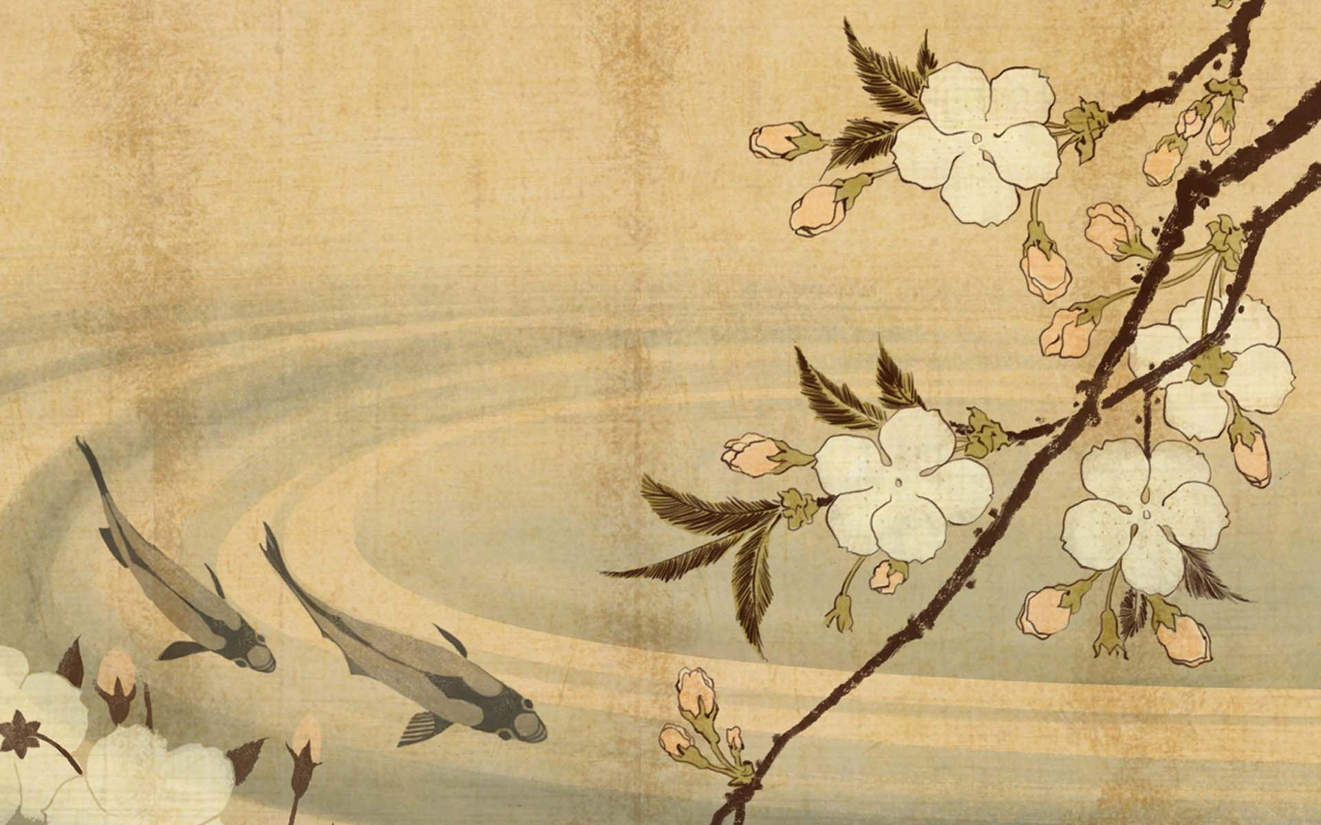 artistic japanese wallpaper 25023