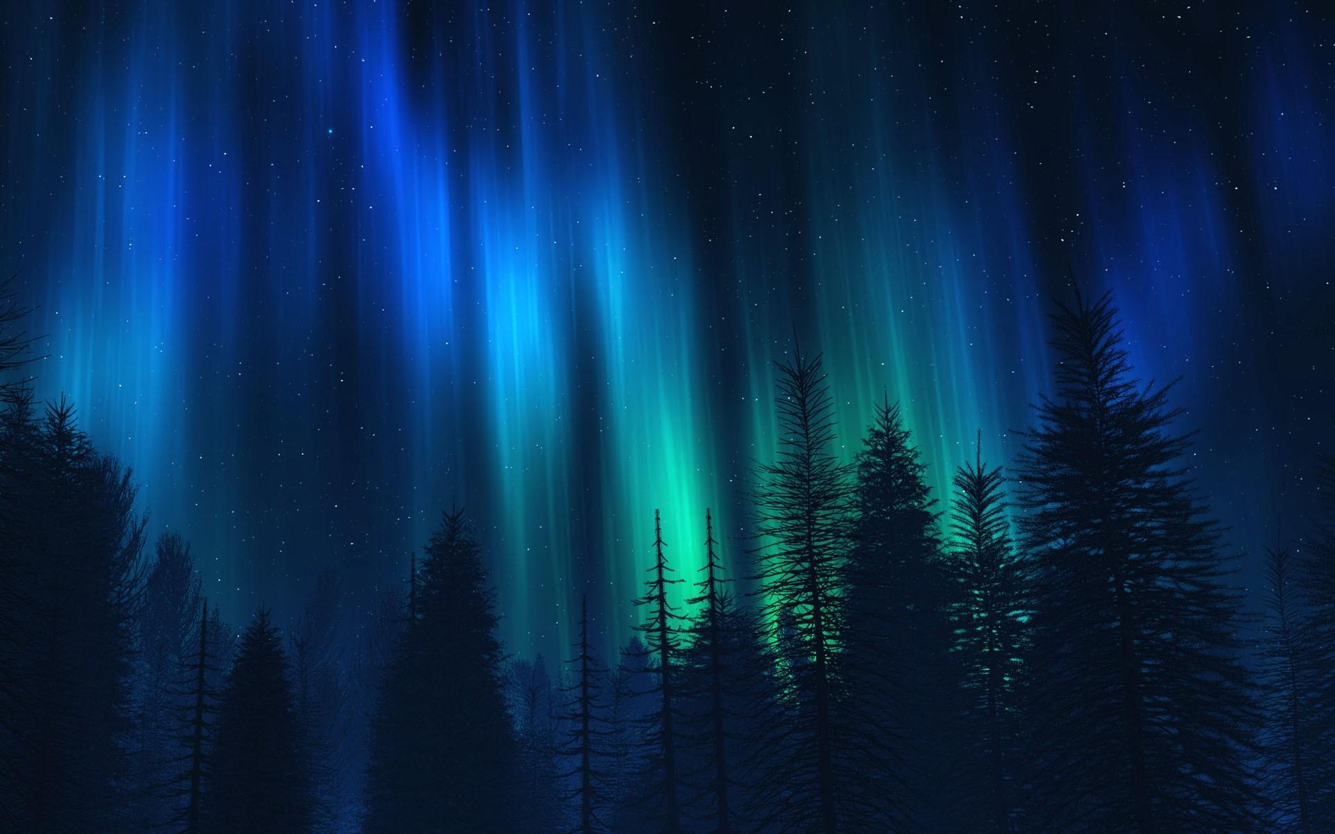 awesome polar lights wallpaper 34706