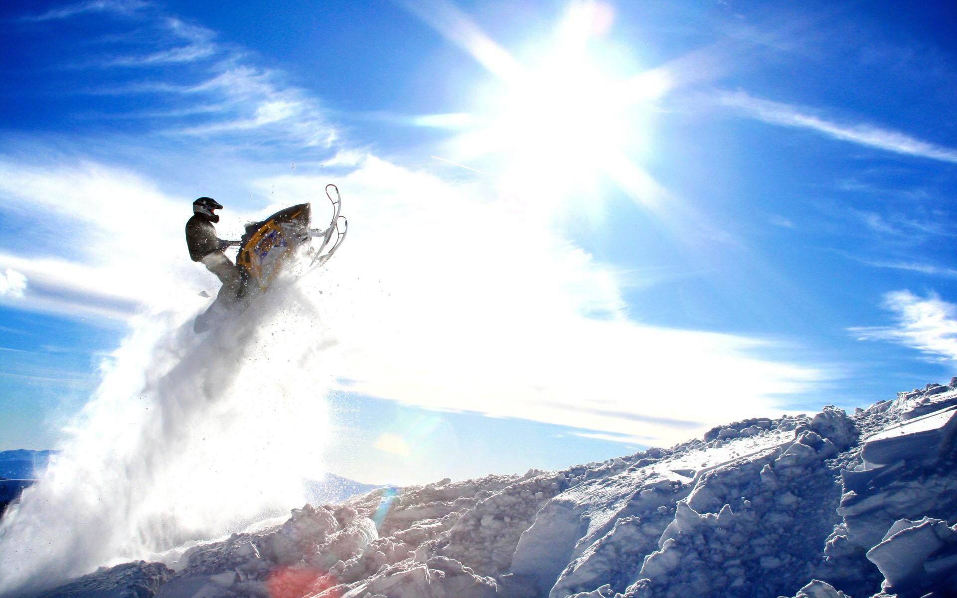 Awesome Snowmobile Wallpaper 42225 1920x1200 Px