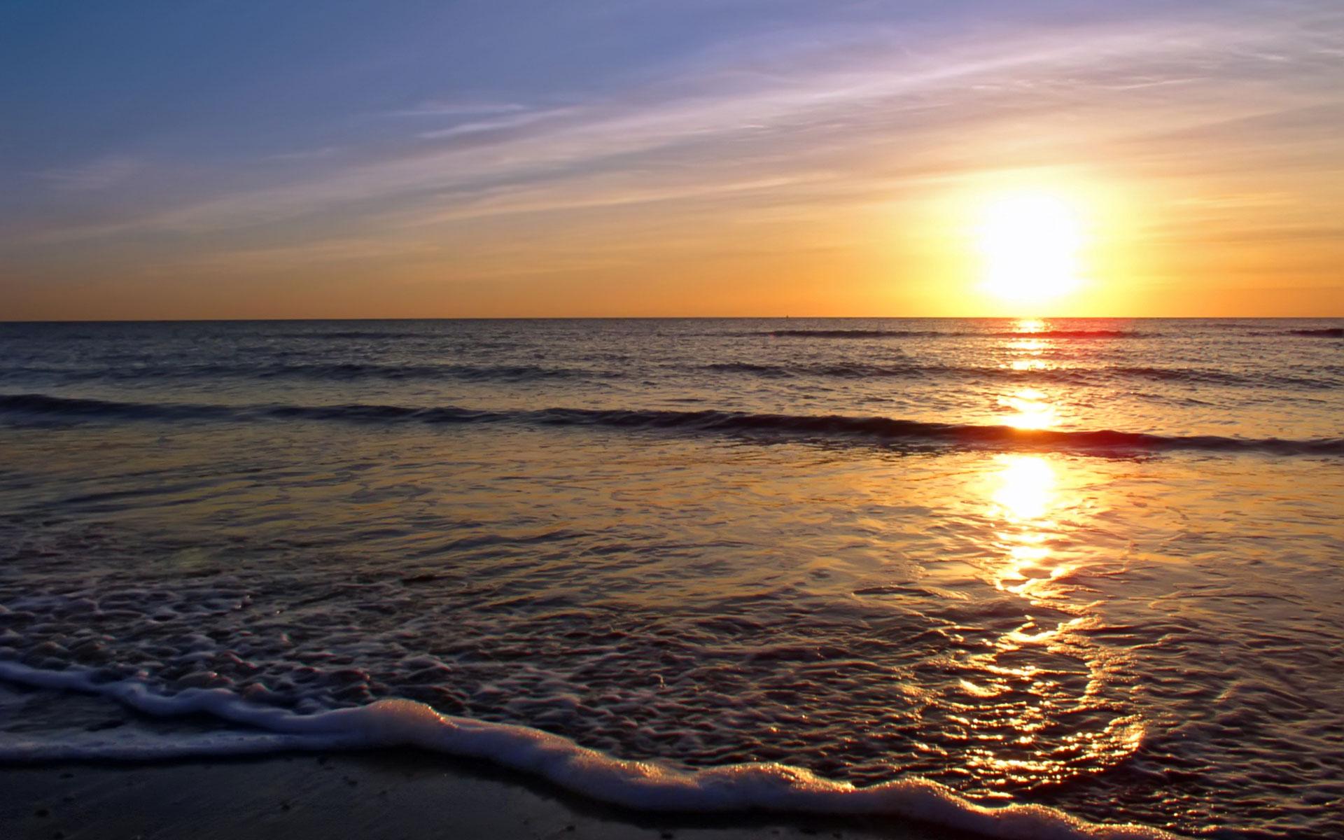 Beach Sunset Wallpaper 28814