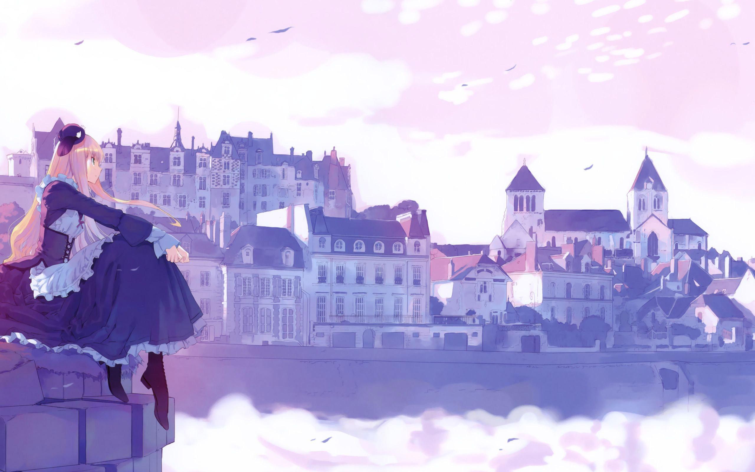 Beautiful Anime City Wallpaper 42581