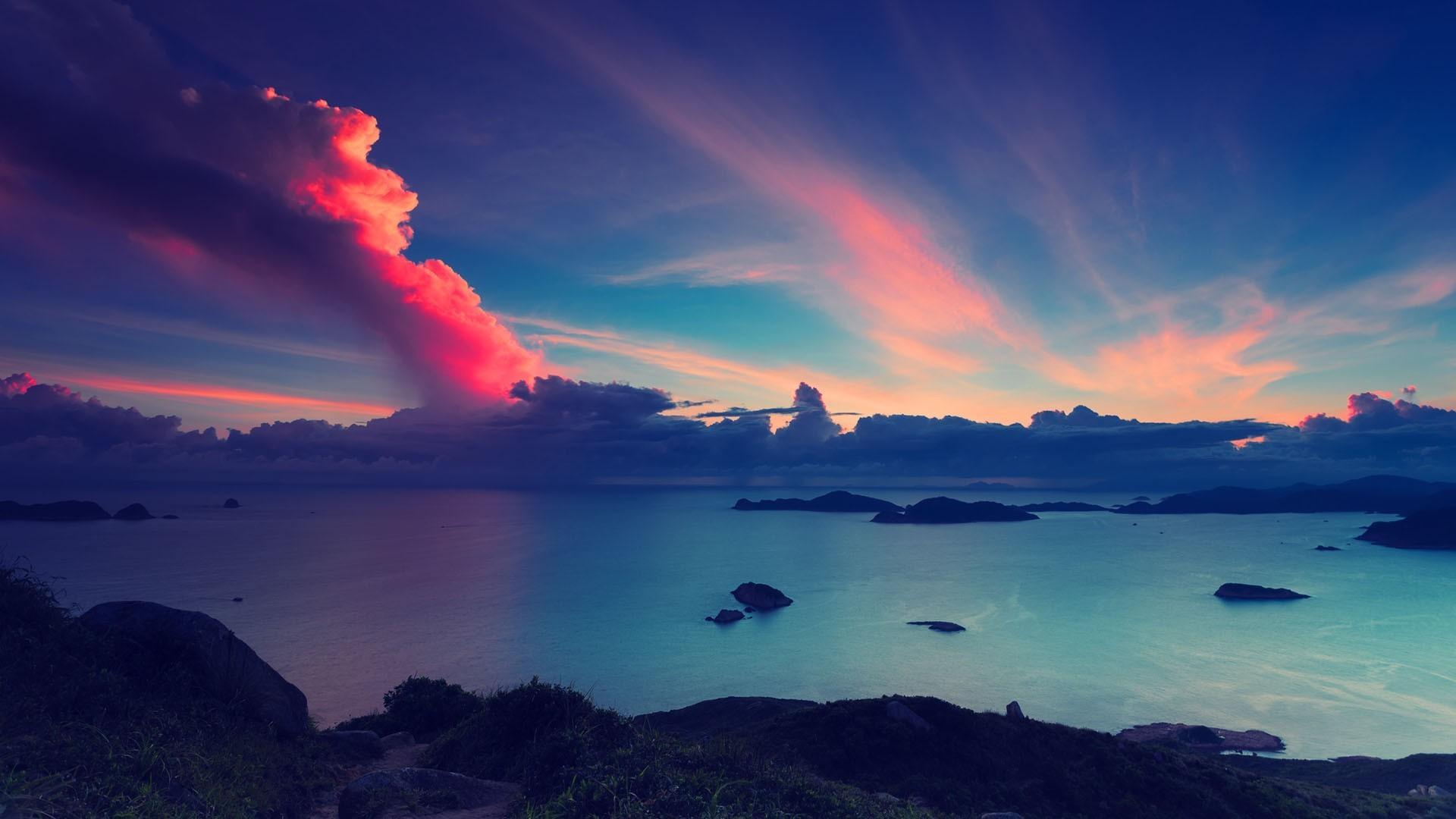 beautiful dusk 32481