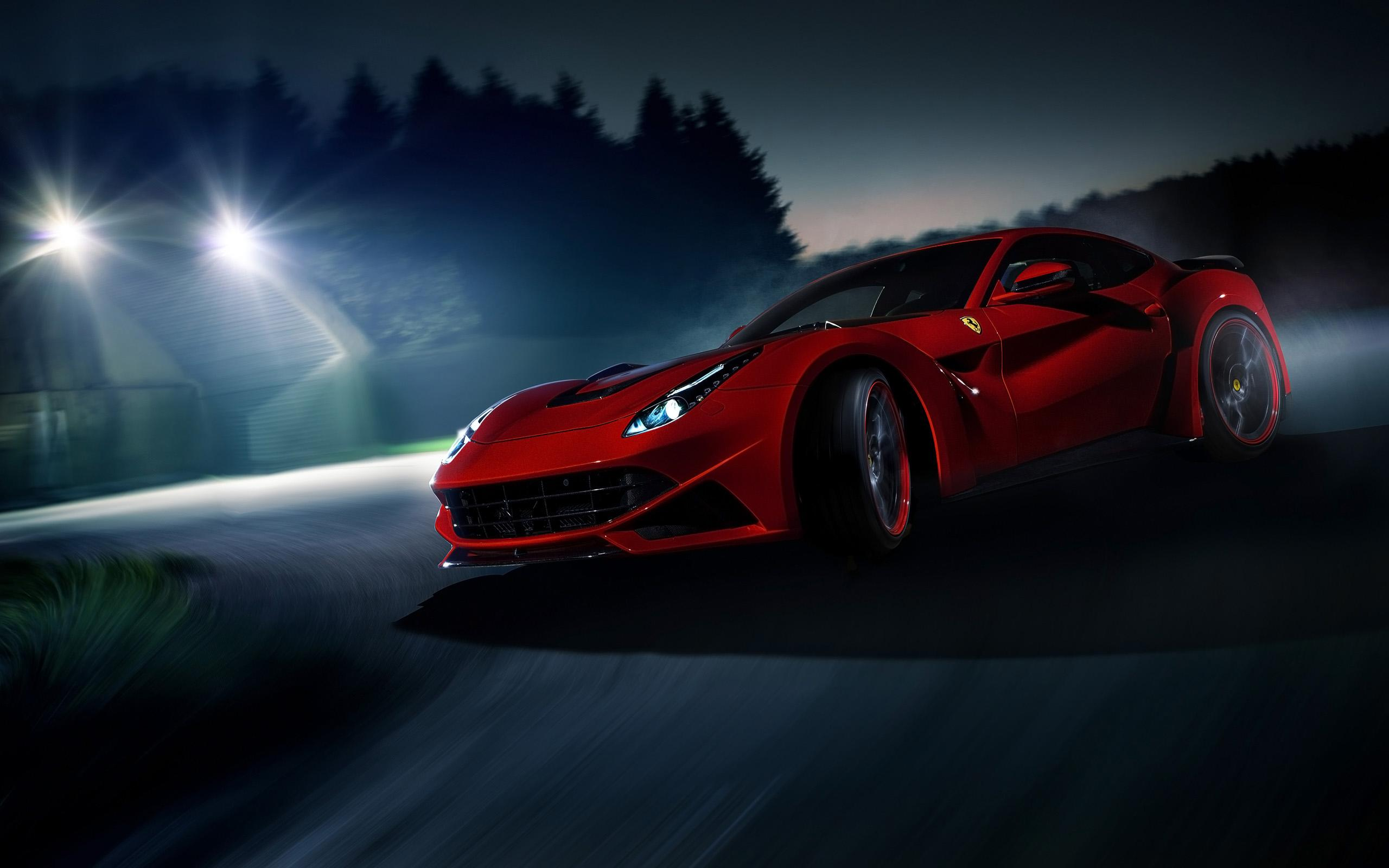 beautiful red ferrari wallpaper 36334